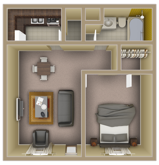 Fsu Apartments: Gated 1 Bedroom Apartments